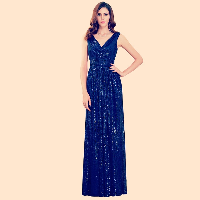 Long sequins gown - Fashion 254